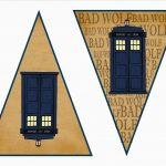 Dr. Who Free Printable Kit Including Cupcake Wrappers, Banners, And   Doctor Who Party Invitations Printable Free