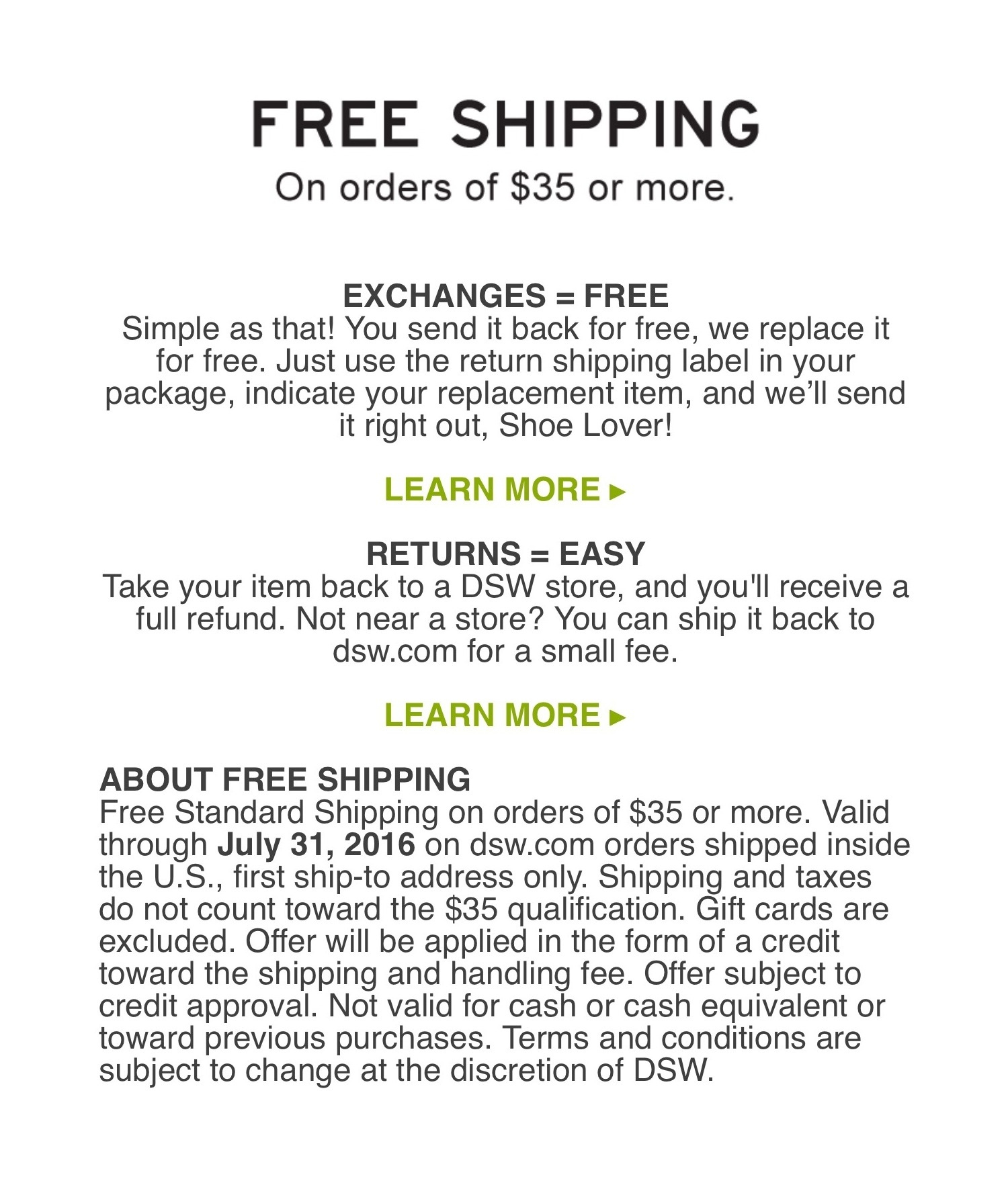 Dsw Coupons Never Expire / Staples Coupons For Printing - Free Printable Coupons For Dsw Shoes