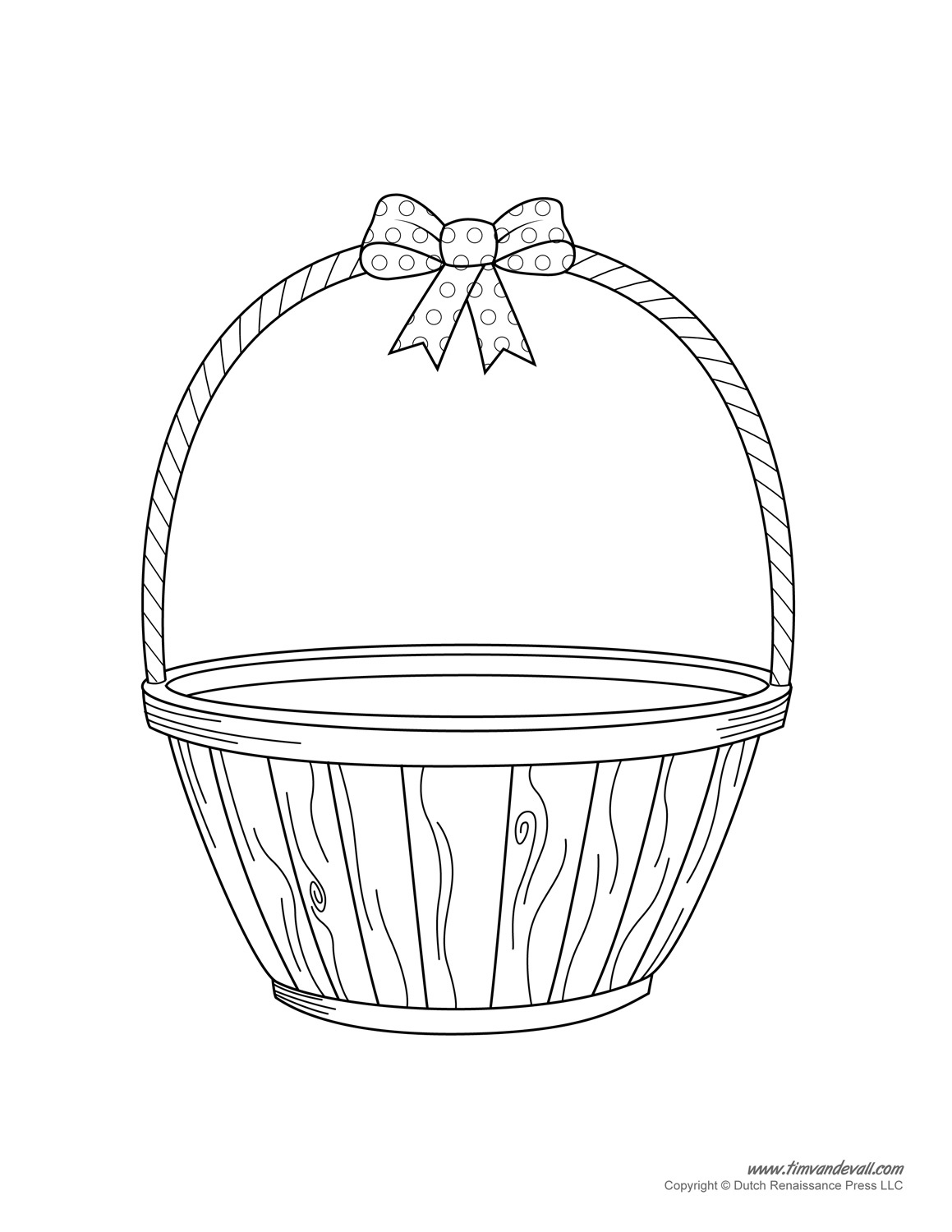 Easter Basket Template, Easter Basket Clipart & Easter Craft - Free Printable Easter Baskets