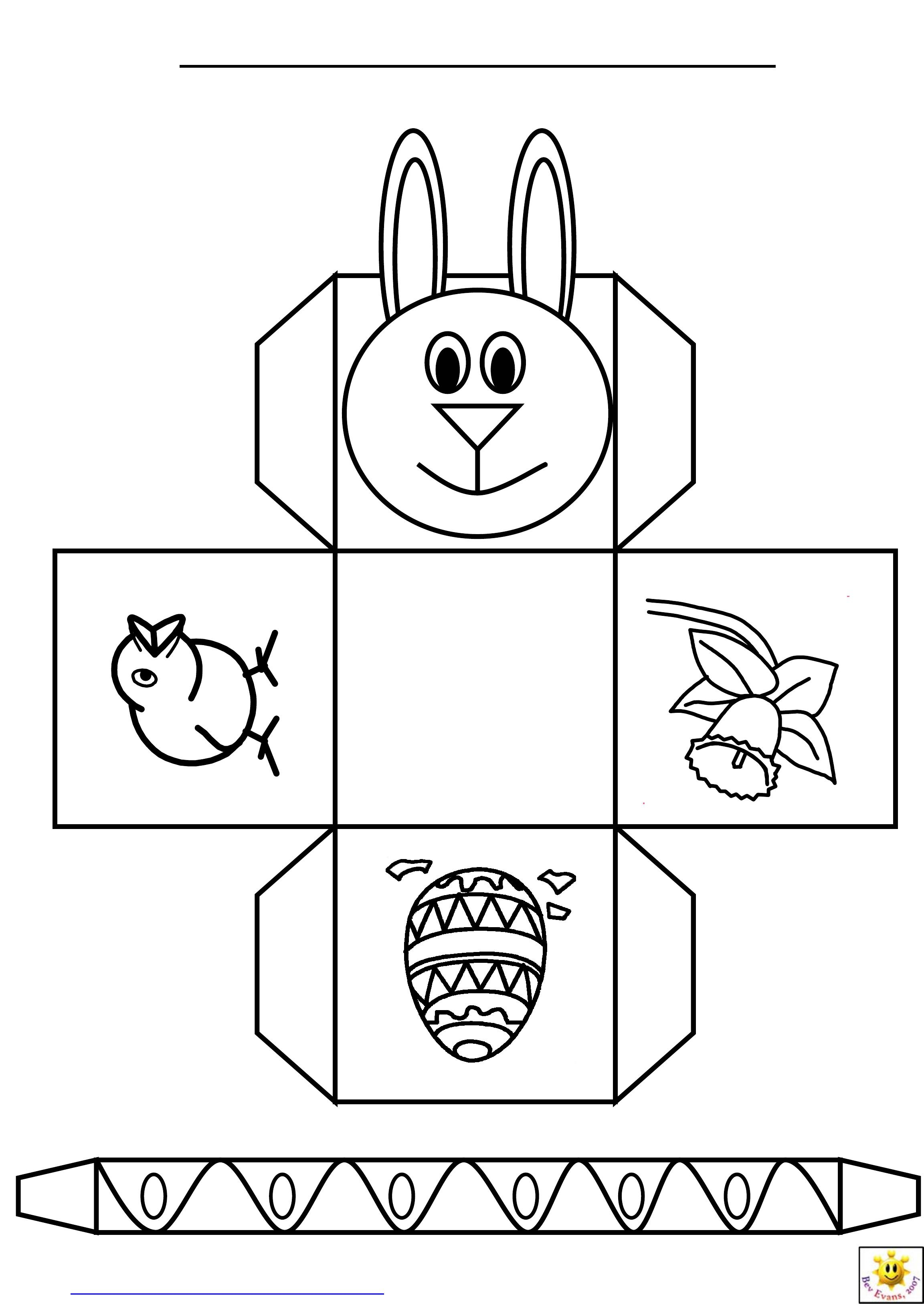 Easter Basket Templates Free – Hd Easter Images - Free Printable Easter Baskets