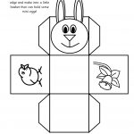 Easter Basket = This One Is Most Like The One That I Remember Making   Free Printable Easter Egg Basket Templates