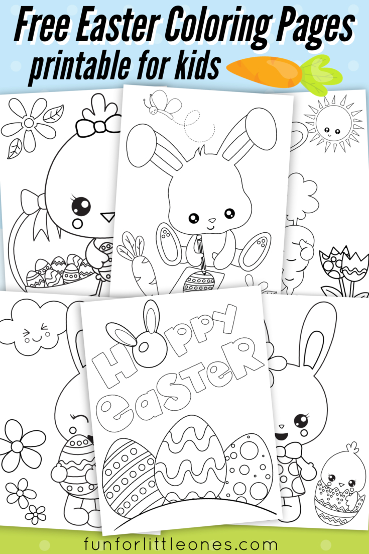 Easter Coloring Pages For Kids (Free Printable) | Printables - Free Printable Easter Coloring Pages For Toddlers