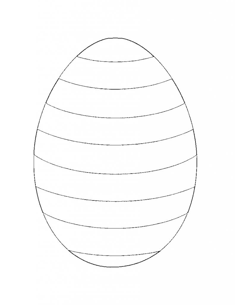 Easter Egg Templates Free Printable – Hd Easter Images - Easter Egg Template Free Printable