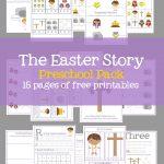 Easter Preschool Pack Of Printables – Mary Martha Mama   Free Printable Stories For Preschoolers