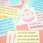 Easter Scavenger Hunt   Free Printable!   Happiness Is Homemade   Easter Scavenger Hunt Riddles Free Printable
