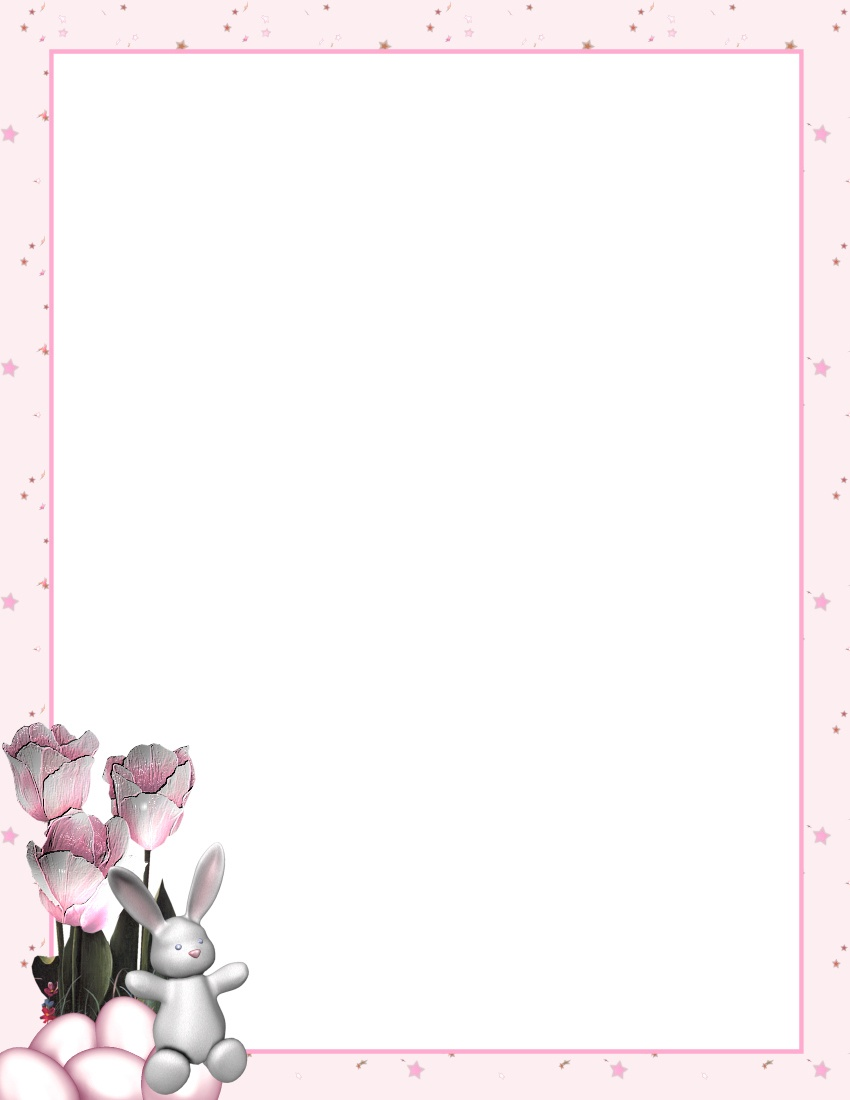 Easter Stationery 2 Theme Free Digital Stationery - Free Printable Easter Stationery