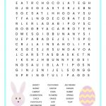 Easter Word Search Free Printable Worksheet For Kids   Free Printable Religious Easter Word Searches
