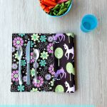 Easy 10 Minute Sewing Project  How To Sew Reversible Placemats   Free Printable Placemat Patterns