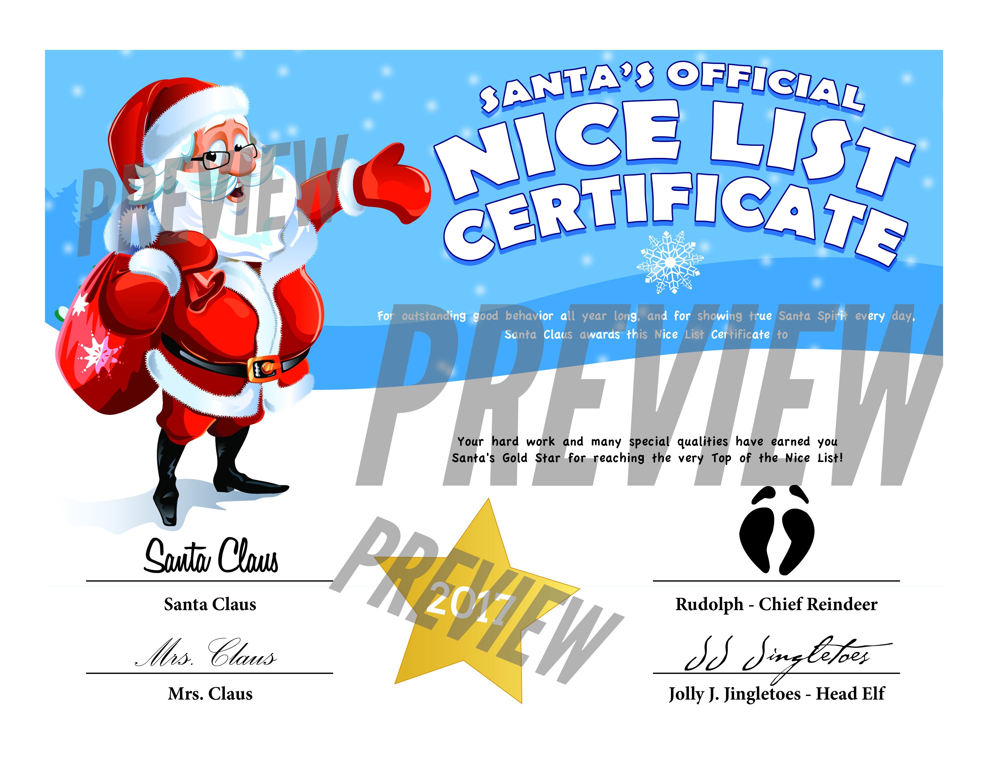 Easy Free Letters From Santa Claus To Children - Free Personalized Printable Letters From Santa Claus
