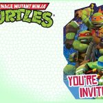 Editable Ninja Turtle Invitation Template | Tkb Printables In 2019   Teenage Mutant Ninja Turtles Printables Free