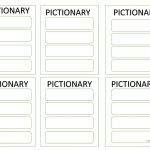 Editable Pictionary Cards Worksheet   Free Esl Printable Worksheets   Free Printable Pictionary Cards