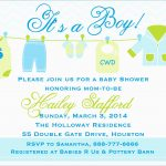 Elegant Free Printable Baby Shower Invitations Templates For Boys   Free Printable Baby Shower Invitations For Boys