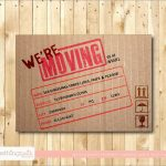 Elegant Free Printable Moving Announcement Templates | Best Of Template   We Are Moving Cards Free Printable