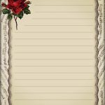 Elegant Stationery | Papre | Notebook Paper, Free Printable   Free Printable Elegant Stationery