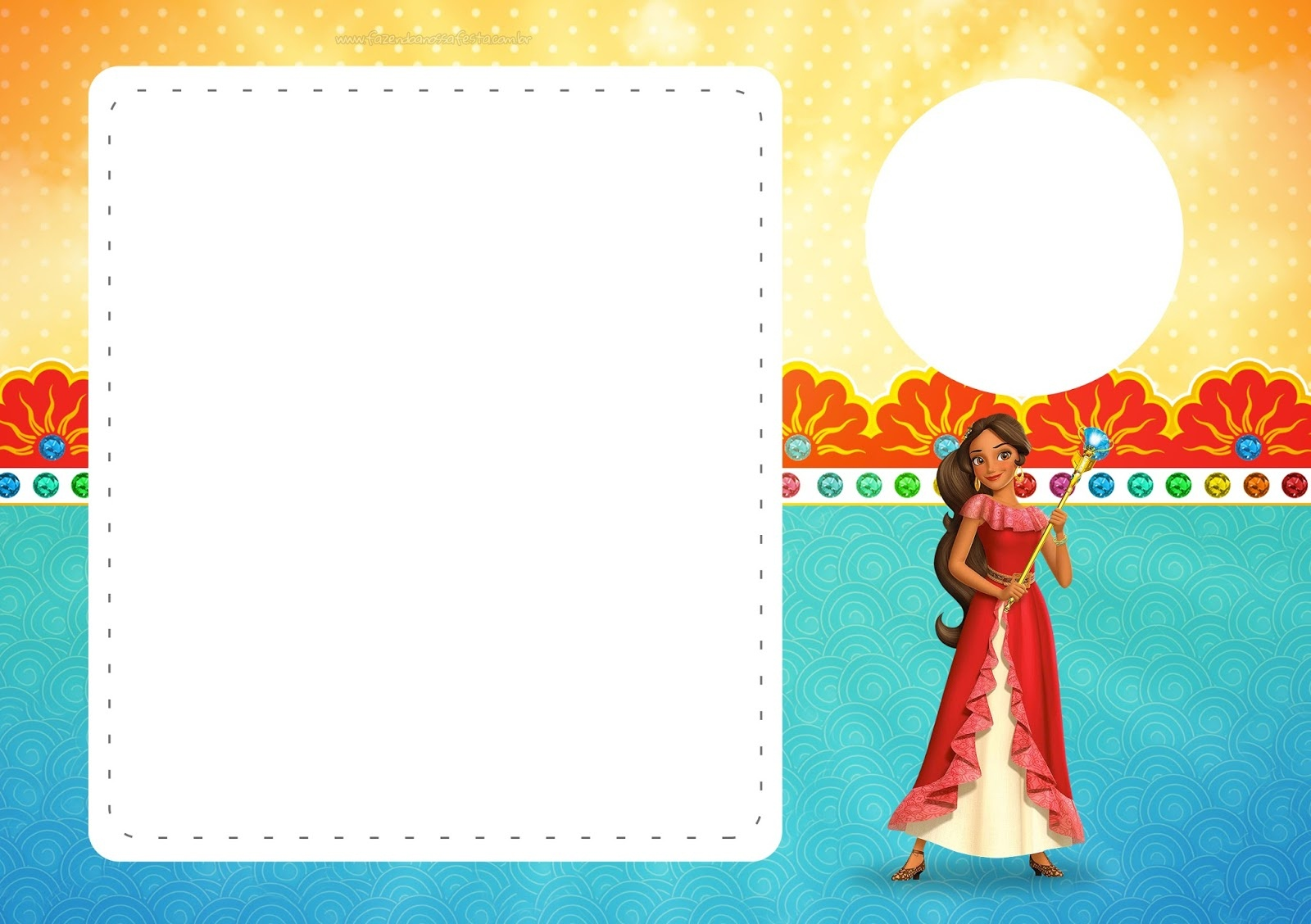 Elena Of Avalor: Free Printable Invitations. - Oh My Fiesta! In English - Elena Of Avalor Free Printables