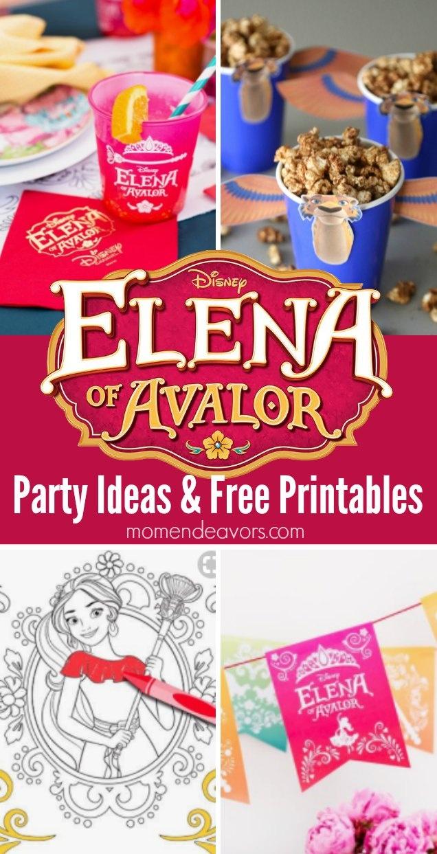 Elena Of Avalor Party Ideas & Printables {Plus A Giveaway!!!!} - Elena Of Avalor Free Printables