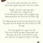 Elf On A Shelf Goodbye Letter Printable   Elf On A Shelf Goodbye Letter Free Printable