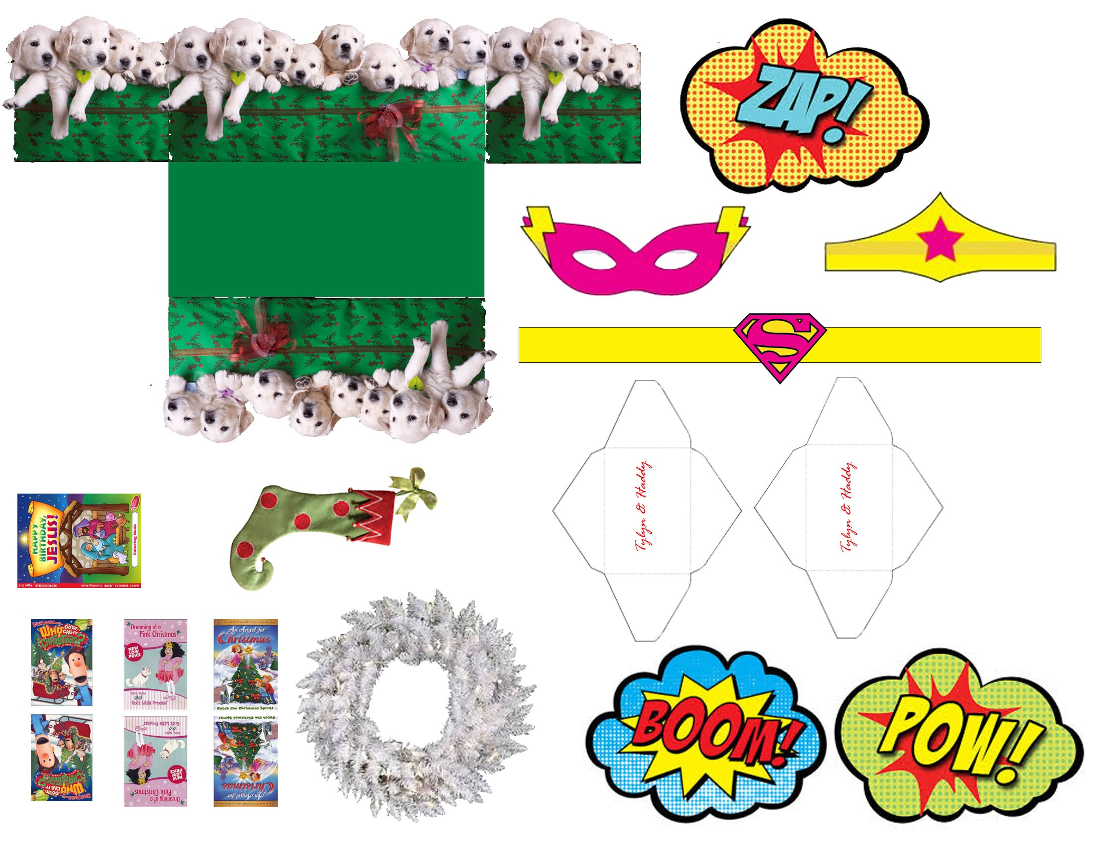 Elf On The Shelf Free Printable Props – The Glamorous Project - Elf On The Shelf Free Printable Props