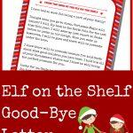 Elf On The Shelf Good Bye Letter   A Grande Life   Elf On A Shelf Goodbye Letter Free Printable