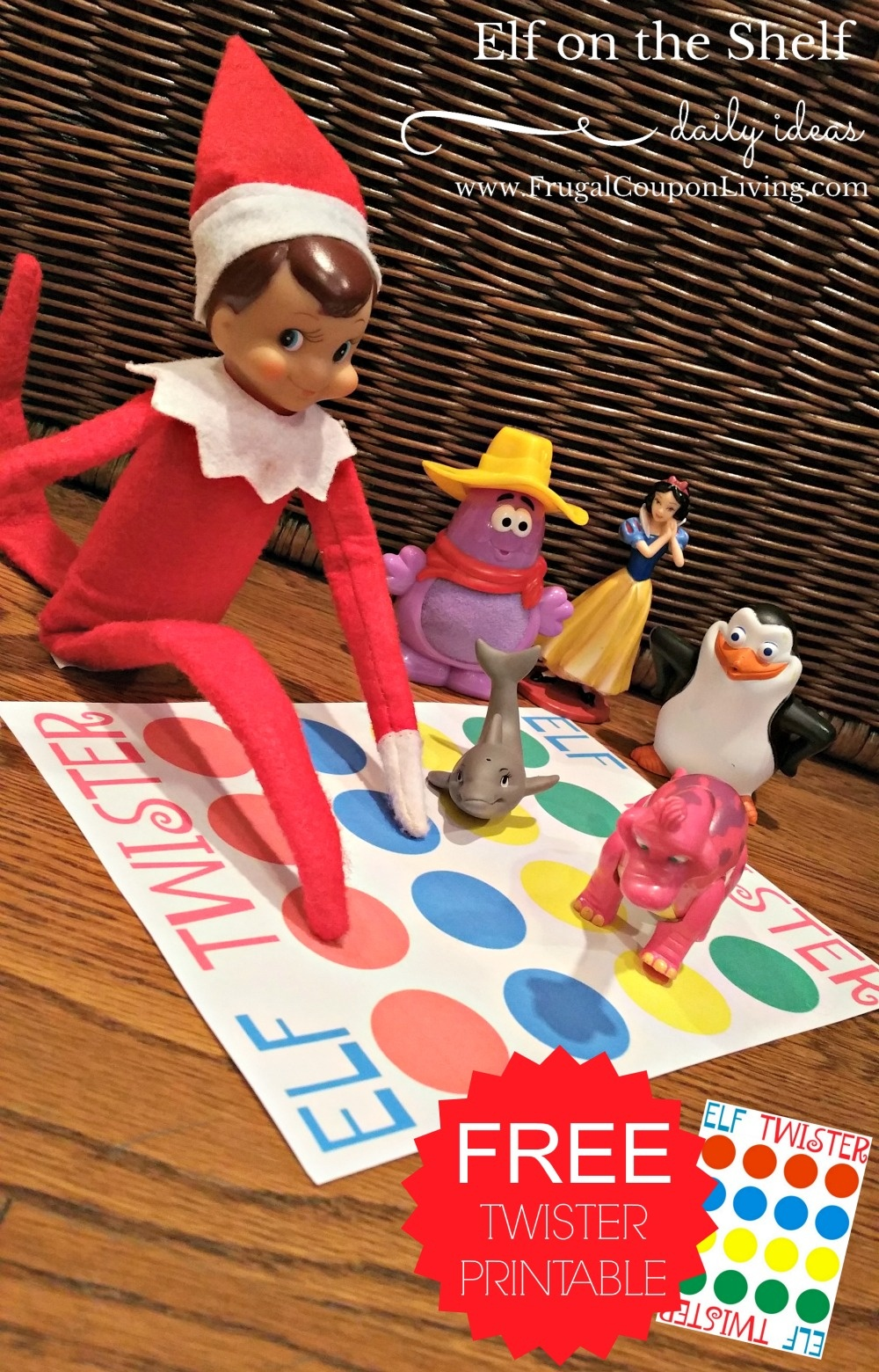 Elf On The Shelf Ideas | Elf Twister Printable - Elf On The Shelf Free Printable Ideas