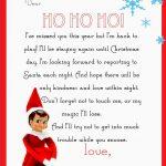 Elf On The Shelf Letter {Free Printable} | Elf On The Shelf | Elf On   Elf On A Shelf Goodbye Letter Free Printable
