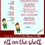 Elf On The Shelf Letters {Free Printables}   Crafty Mama In Me!   Elf On A Shelf Goodbye Letter Free Printable