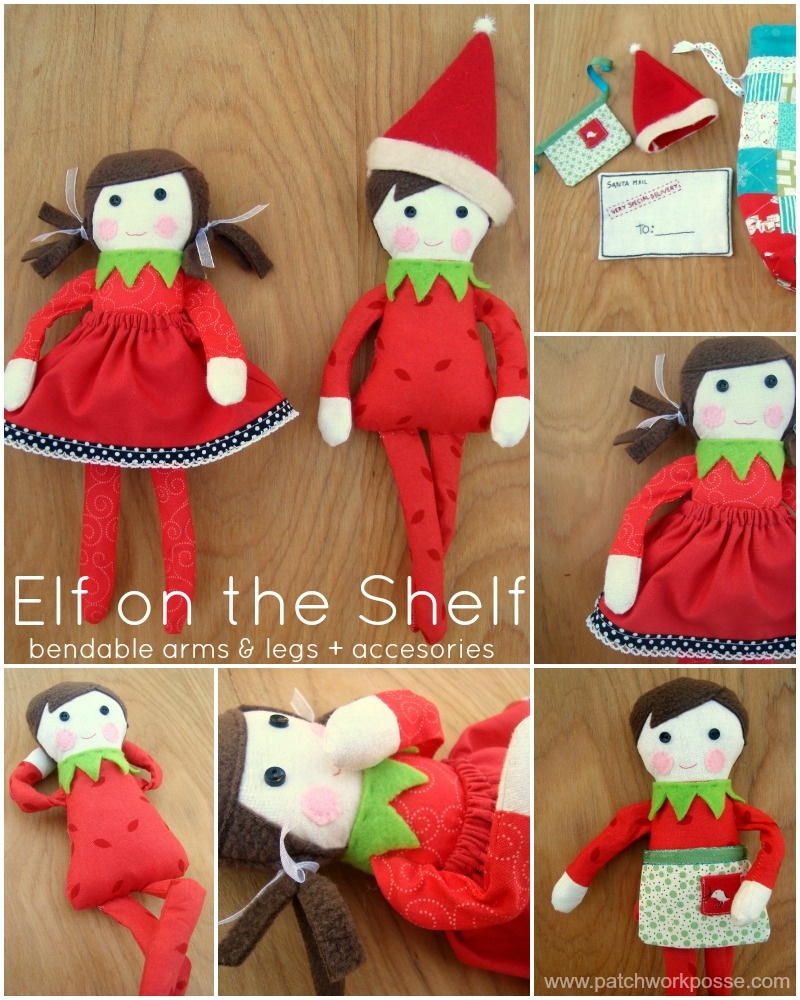 Elf On The Shelf Printable And Doll Pattern - Free Printable Elf Pattern