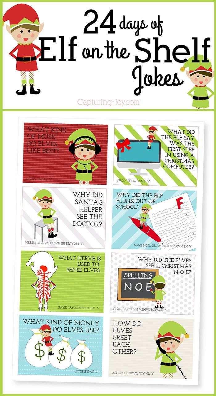 Elf On The Shelf Printables, Ideas And Activities | Eighteen25 - Elf On The Shelf Free Printable Ideas