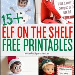 Elf On The Shelf Printables & Ideas | Over The Big Moon   Elf On The Shelf Free Printable Ideas