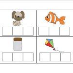 Elkonin Boxes Template. Elkonin Boxes Phonics Worksheets. Printable   Free Printable Elkonin Boxes
