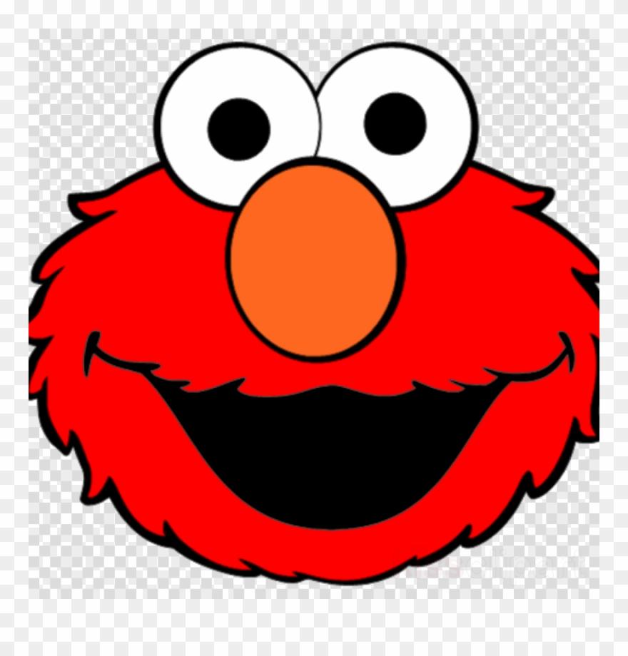Elmo Face Stencil Clipart Elmo Cookie Monster Big Bird - Elmo Dibujo - Free Printable Cookie Monster Face
