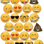 Emoji Cupcake Toppers Free Printable | Birthday Party | Emoji   Free Emoji Printables