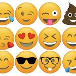 Emoji Cupcake Toppers Free Printable   Paper Trail Design   Free Emoji Printables