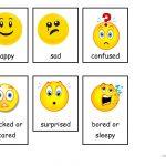 Emotions (Flashcards) Worksheet   Free Esl Printable Worksheets Made   Free Printable Pictures Of Emotions
