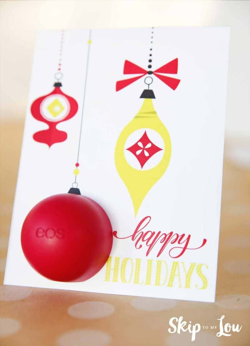 Eos Free Printable Holiday Card | Skip To My Lou - Free Printable Eos Christmas Card