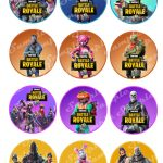 Excited To Share The Latest Addition To My #etsy Shop: Fortnite Hd   Free Printable Fortnite Cupcake Toppers