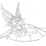 Fairy Pictures To Color   Free Printable Fairy Coloring Pages For   Free Printable Coloring Pages For Adults Dark Fairies