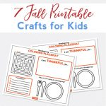 Fall Crafts For Kids With Free Printables   Free Printable Fall Crafts For Kids