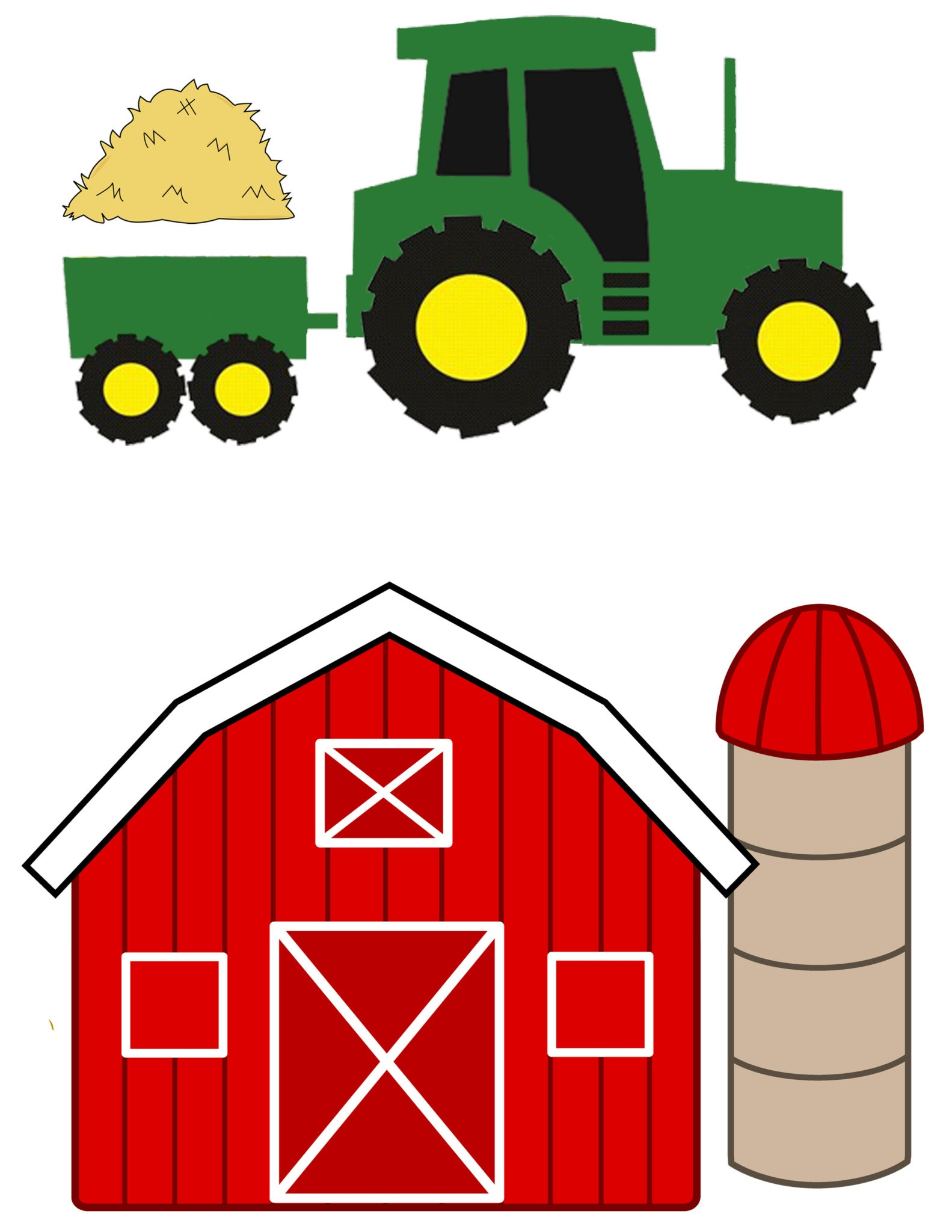 Farm Animal Templates To Cut Out - Kaza.psstech.co - Free Printable Farm Animal Cutouts