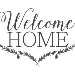 Farmhouse Free Printable Set Gather Choose Joy Welcome Home | ~For   Welcome Home Cards Free Printable