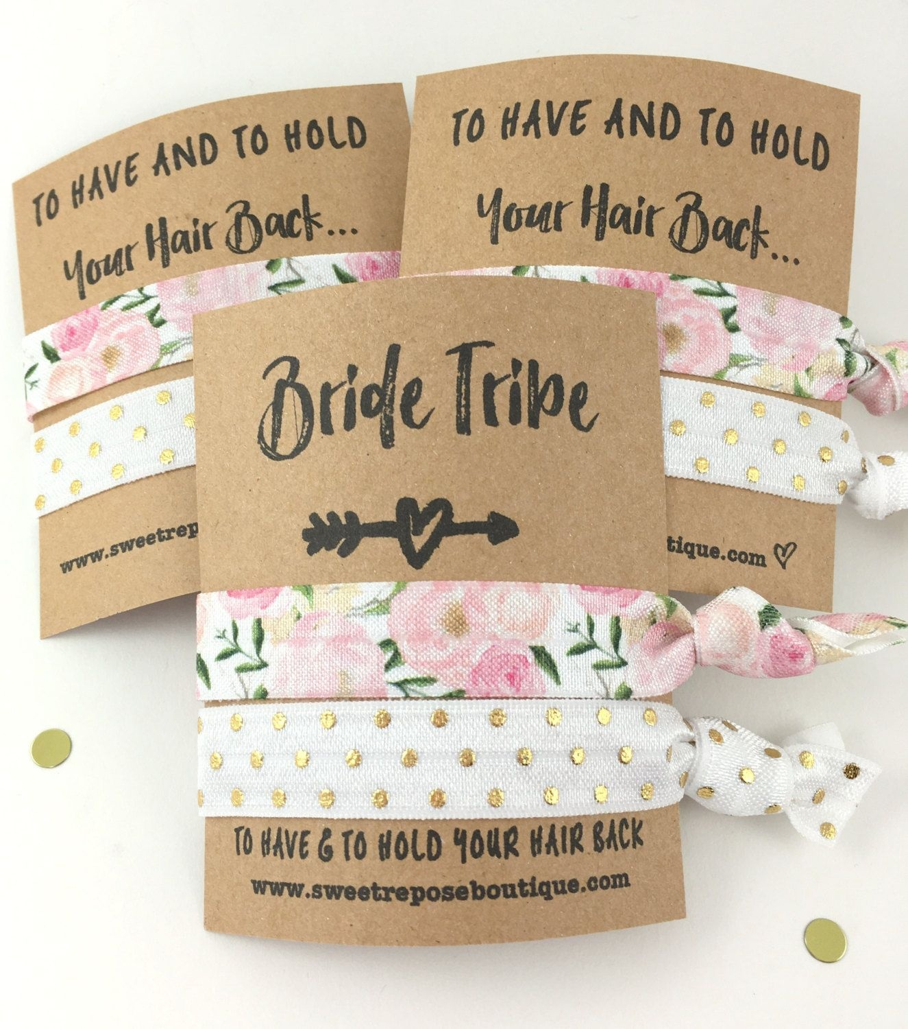 Featured Etsy Products | The 1St Part | Bachelorette Party Favors - To Have And To Hold Your Hair Back Free Printable