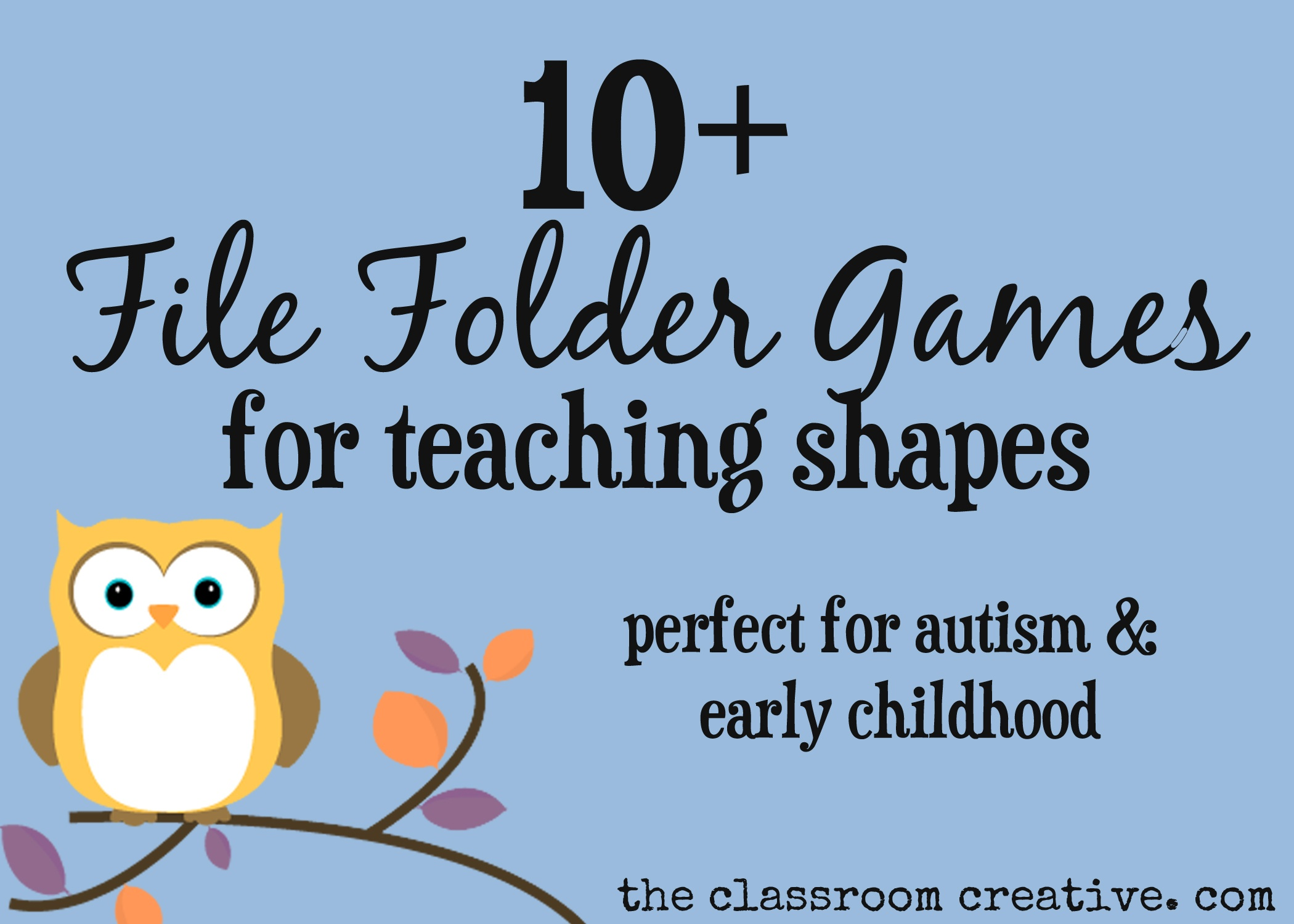 File Folder Games For Teaching Shapes - Free Printable Fall File - Free Printable Fall File Folder Games