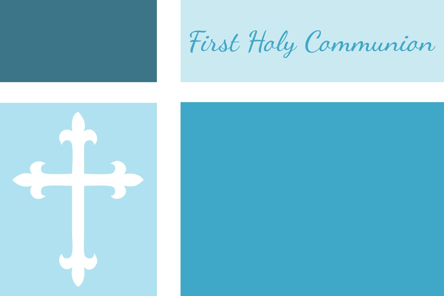 First Communion Invitations Template the Cheapest Way - Bybloggers - Free Printable First Communion Invitation Templates