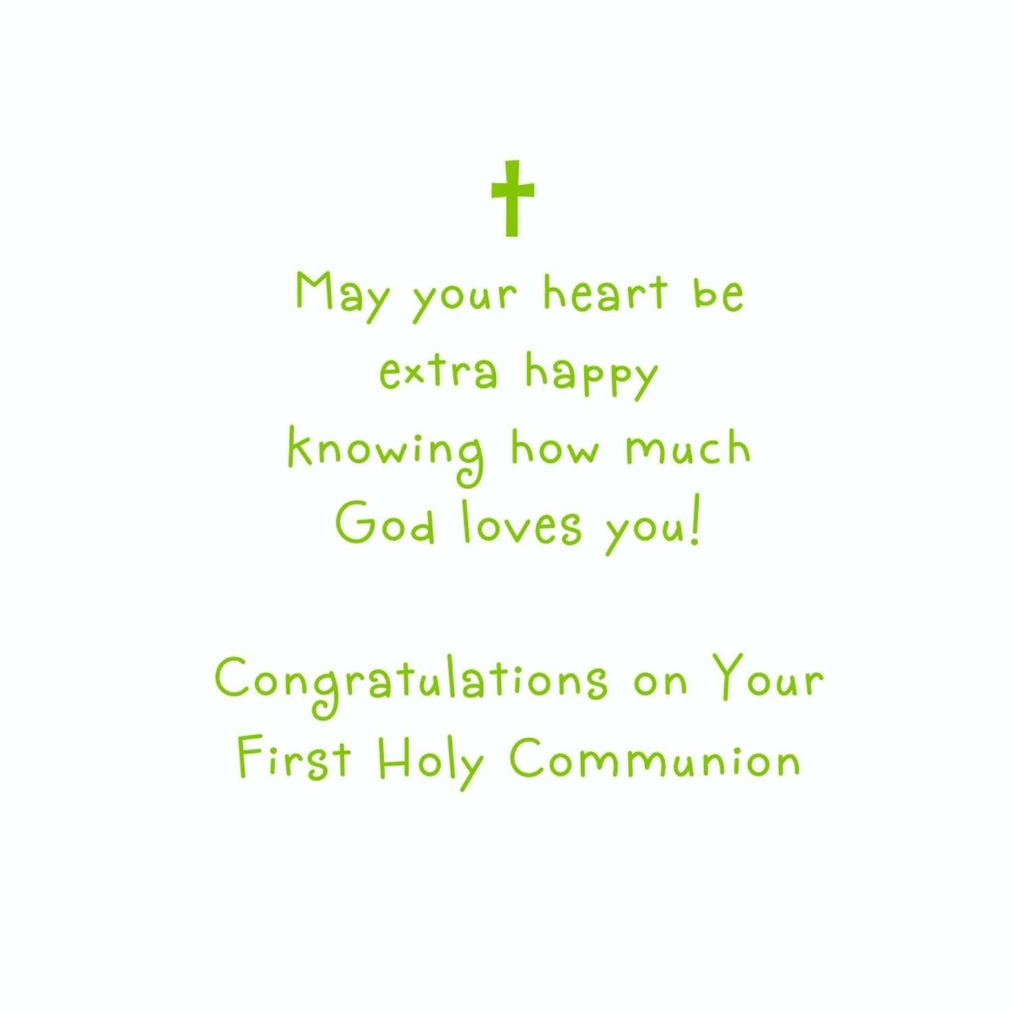 First Holy Communion Cards Printable Free - First Holy Communion Cards Printable Free
