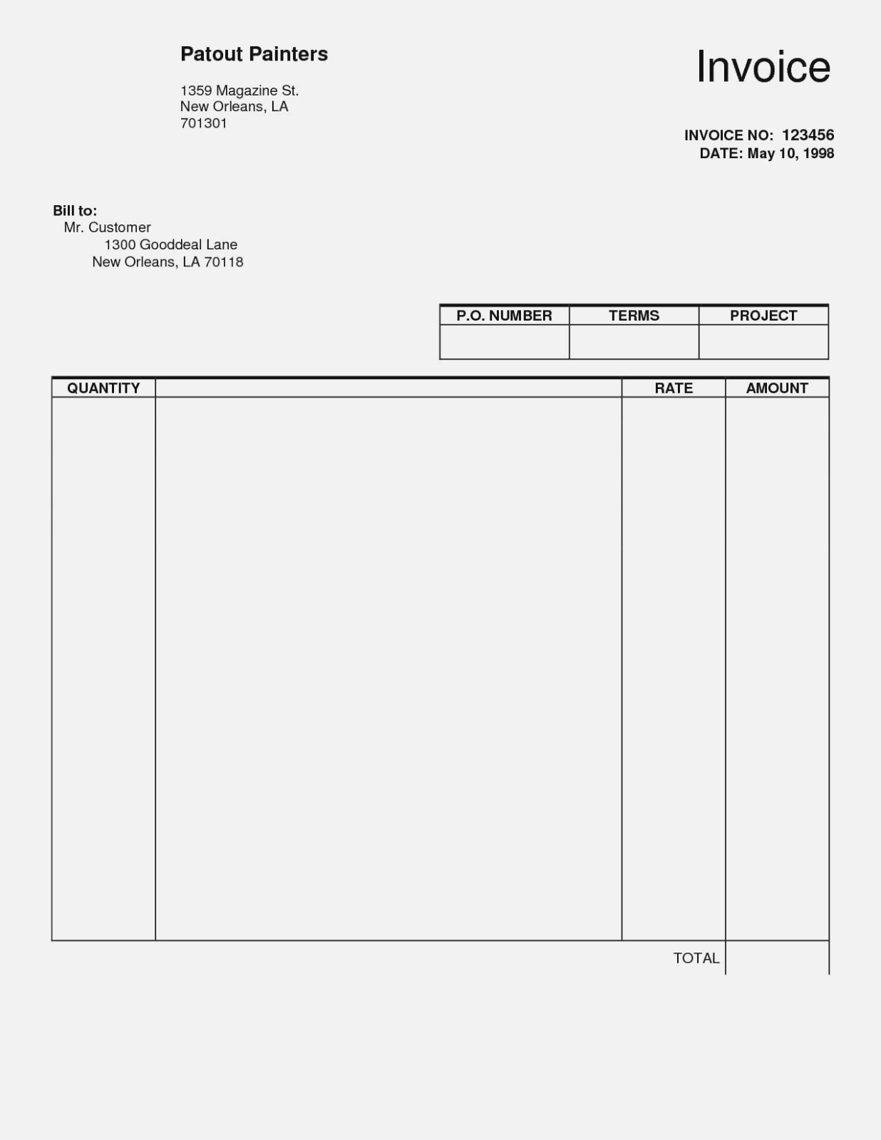 Five Awesome Things You | Realty Executives Mi : Invoice And Resume - Invoice Forms Free Printable