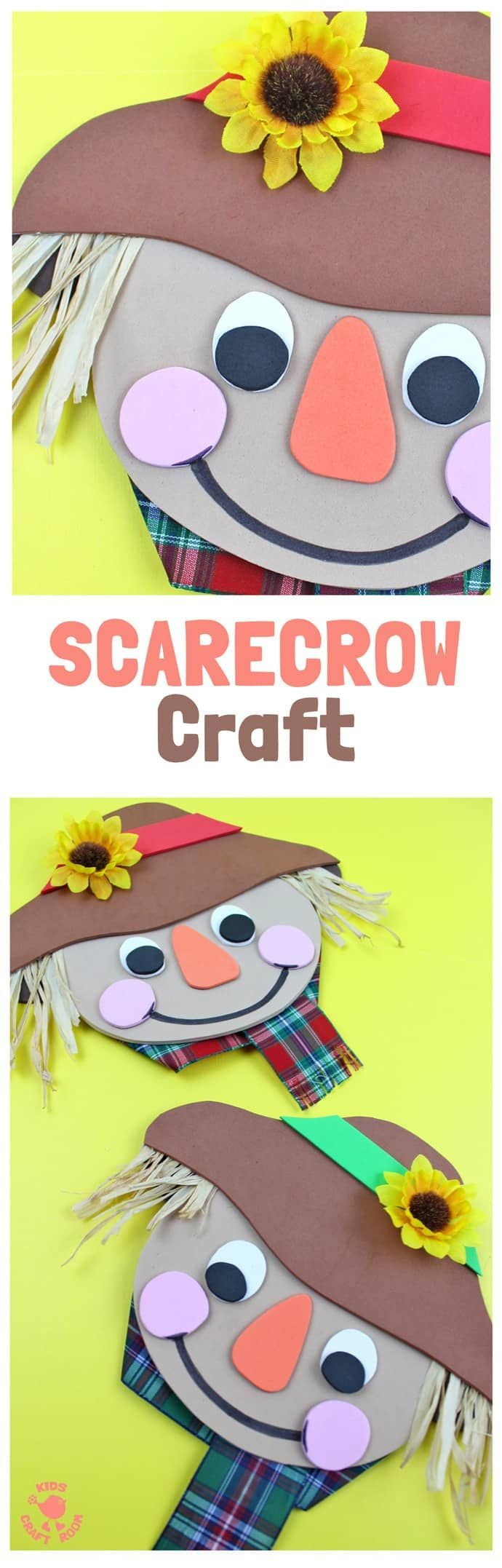 Foam Scarecrow Craft | Kids Craft Room | Scarecrow Crafts, Fall - Free Printable Fall Crafts For Kids