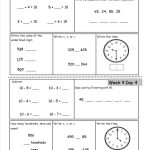 Free 2Nd Grade Daily Math Worksheets   Free Printable Daily Math Warm Ups