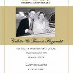 Free 50Th Wedding Anniversary Invitations Printable | Mom/dad 50Th   Free 50Th Anniversary Printables