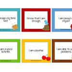 Free Affirmation Cards For Kids!   Kiddie Matters   Free Printable Affirmation Cards