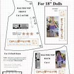 Free #agdoll Summer Shirt Pattern @ Chellywood #sewing 4#dolls   18 Inch Doll Clothes Patterns Free Printable